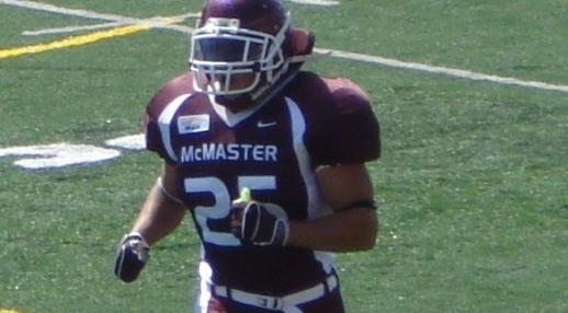 Justin McMaster Football